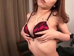 Slutty Ladyboy Wants To Please You With Her Solo 3