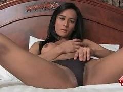 Lovely Asian T-Girl Is Fondling Herself 2