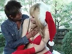 Horny Guy Is Fondling Ladyboy Noa Lijima 1