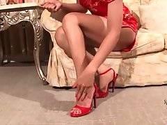 Pretty Ladyboy Honey Starts Hot Solo 1