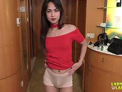 Precious seems very excited and here she is in front of Jud`s lenses showing off her incredible body. She`s young and pretty and has a soft and slender figure with cute blossoming tits. This beautiful lady will strip and play today and she will surely mak