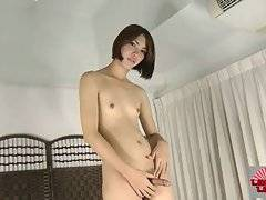 Sweet Ladyboy Soda Plays With Her Dick 3